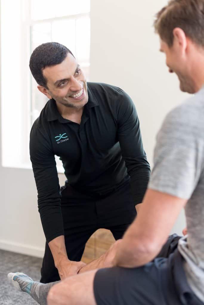 Runner knee pain chiropractic treatment